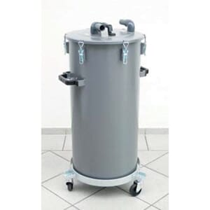 Pulvertank for aggregat, 50 kg.