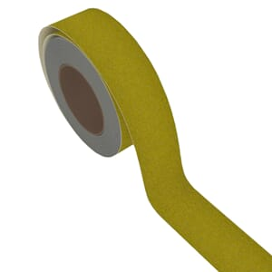 AntiSkli tape - Gul Safety Walk, 50mm x 18 meter.