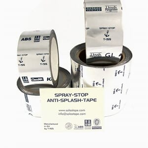 Spray-Stop tape - Brannforebyggende tape - 10m x 10 cm.